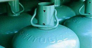 Déchets de bouteilles de gaz