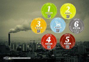 Modalités de délivrance du certificat qualité de l'air qui vise à identifier les véhicules à moteur